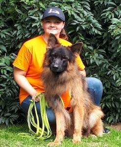 jessica mit Hund
