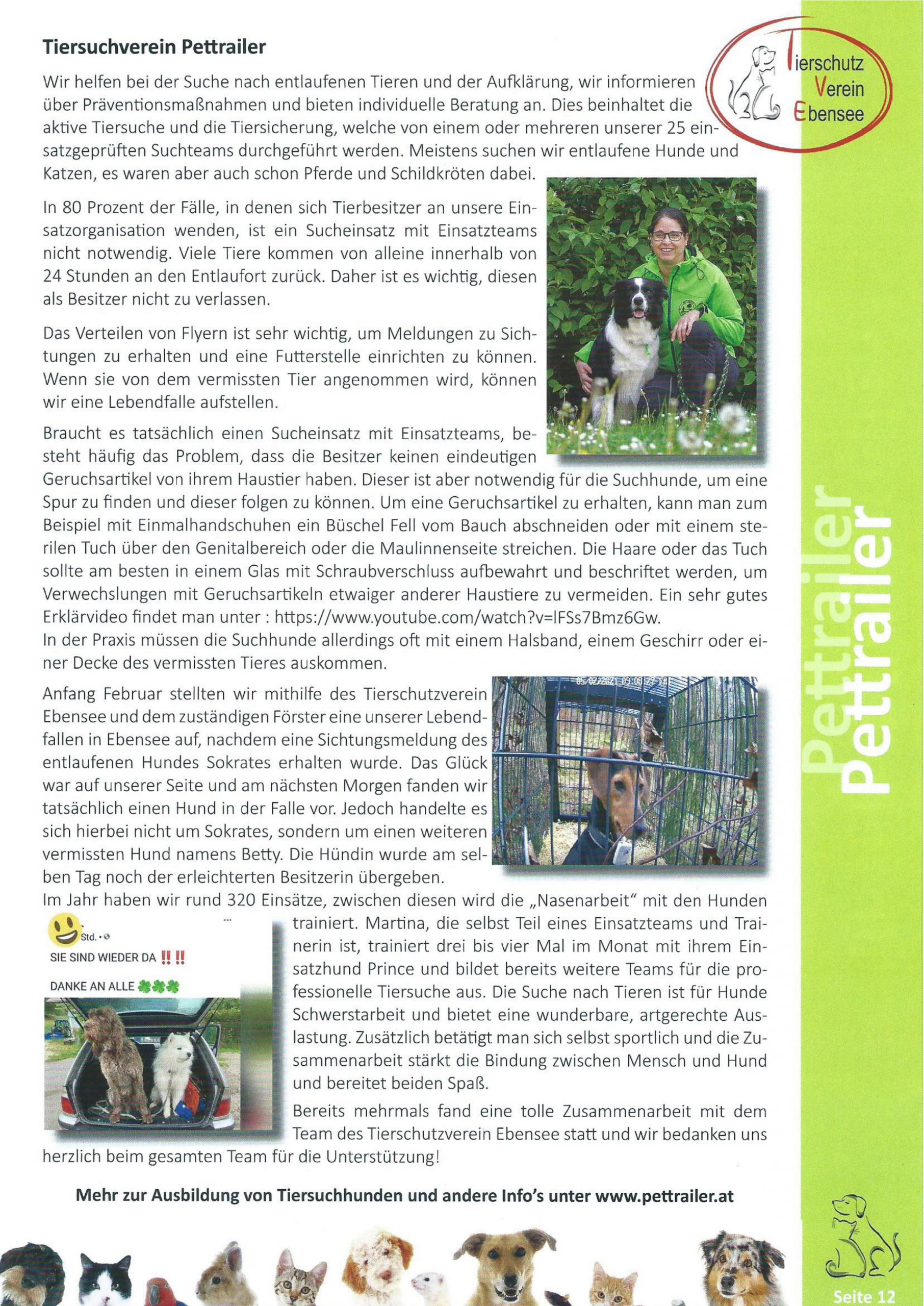 Tierschutzverein Ebensee